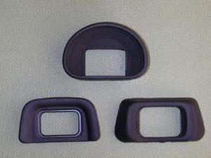 Nikon接眼目当て 角型用、DK-9、DK-20