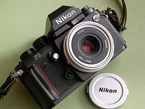 Ai nikkor 45mm F2.8P with Nikon F3