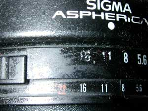 Sigma High-speed Wide 28mm F1.8 Aspherical (I)