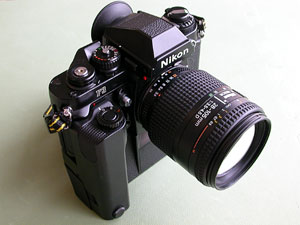 Nikon F3 and MD-4 with Ai AF Zoom Nikkor 28-105mm F3.5-4.5D(IF)