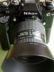 Ai AF Zoom Nikkor 28-105mm F3.5-4.5D(IF) with Nikon F3 and MD-4
