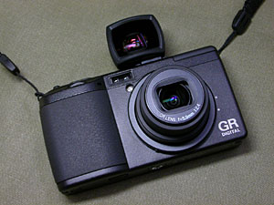 Ricoh GR DIGITAL with GV-1