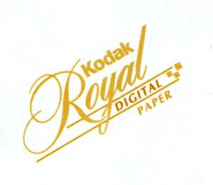 Kodak Royal DIGITAL PAPER logo