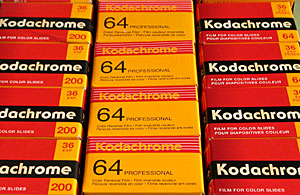 Kodak Kodachrome 200 (KL),Kodachrome 64 Professional (PKR) and Kodachrome 64 (KR)