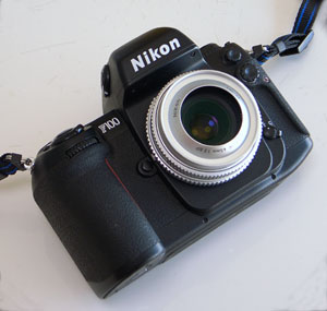 Nikon F100 + Ai Nikkor 45mm F2.8P(Kenko LHG-17 Tele-Conversion Lens and GR DIGITAL)