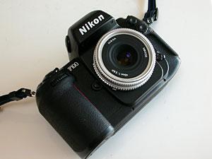 Nikon F100 +  Ai Nikkor 45mm F2.8P