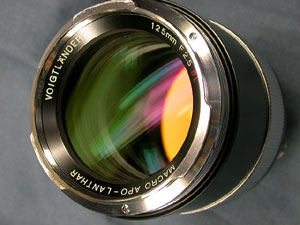 Cosina Voigtlander Macro Apo-Lanthar 125mm F2.5 SL
