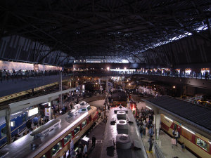 鉄道博物館2:GR DIGITAL、21mm相当、1/14sec、F2.4、ISO100、絞り優先AE、マニュアルISO感度