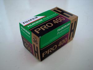 富士フイルム「PRO400H」ネガカラーフィルム