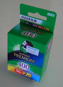 富士フイルム SUPERIA PREMIUM 400