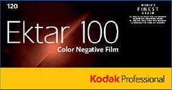 Kodak EKTAR 100 フィルム120サイズ