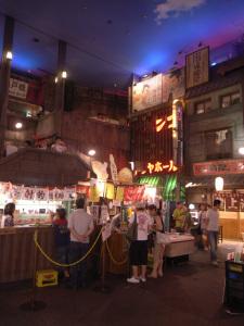 ラーメン博物館(新横浜):GR DIGITAL、1/4sec、F2.4開放、ISO154、プログラムAE、-0.3EV