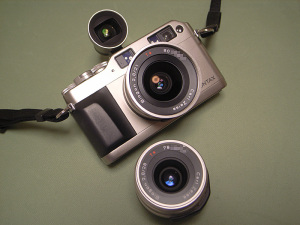 CONTAX G1、Carl Zeiss Biogon T* 28mm F2.8、Biogon T* 21mm F2.8 and GF21mm
