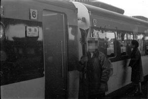 特急白鳥(1961~2年頃大阪駅)、コニパンSS