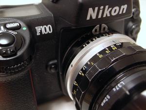 NIKKOR-S・C Auto 50mm F1.4(Ai改) + Nikon F100