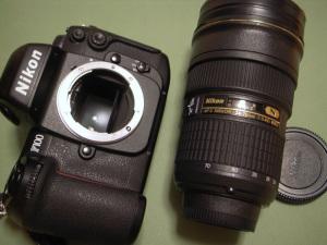 ニコン「ニッコールタンブラー 24-70」 + Nikon F100