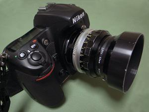 Nikon D300 + NIKKOR-S・C Auto 50mm F1.4 (Ai改)
