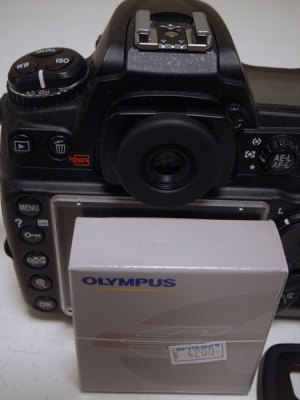Nikon D300 + OLYMPUS ME-1