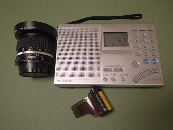 SONY ICF-SW7600GR北米仕様 + Ai Nikkor 28mm F2.8S + Kodak PORTRA 400