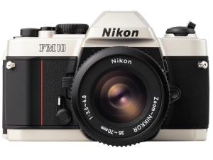 Nikon FM10(2012年グッドデザイン・ロングライフデザイン賞受賞)