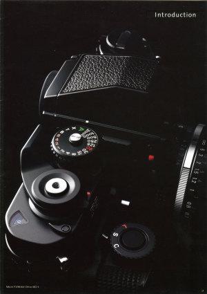 Nikon F3 1998年12月12日のカタログ3ページ