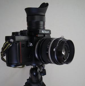 Nikon F3 + DW-4 + Ai Nikkor 20mm F2.8S + BR-2A + BR-5 + BR-3