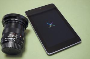 Nexus7(2012)32G + Carl Zeiss Distagon 2/28 ZF