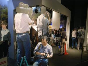 日本新聞博物館:Ricoh GR DIGITAL、28mm相当、1/23秒、F2.4開放、ISO400、-0.3EV、AWB