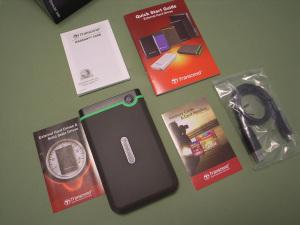 Transcend USB3.0/2.0 2.5インチ ポータブルHDD 耐衝撃 M3シリーズ 1TB TS1TSJ25M3