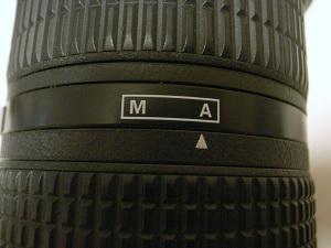 Ai AF Zoom-Nikkor 80-200mm f/2.8D ED <NEW>(旧表記Ai AF Zoom-Nikkor ED 80-200mm F2.8D <NEW>)のM-Aリング