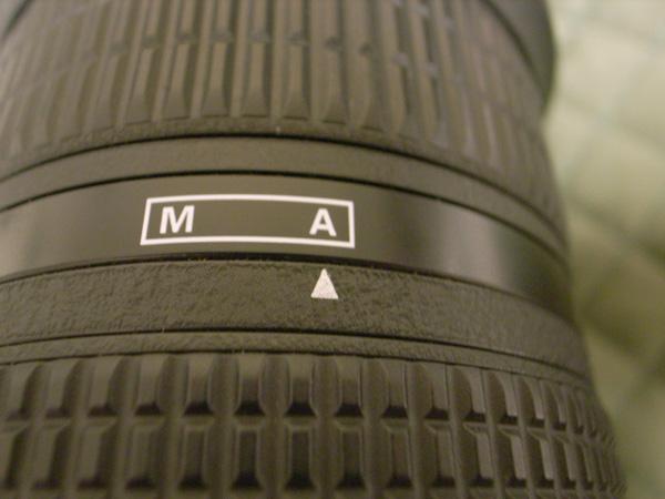 流れ弾被弾でAi AF Zoom-Nikkor 80-200mm f/2.8D ED <NEW>のM-Aリング壊れる