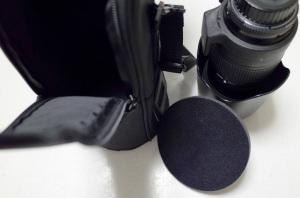 Nikon レンズセミソフトケースCL-M2 + AI AF Zoom-Nikkor 80-200mm f/2.8D ED <NEW> + Fotodiox 花型フード