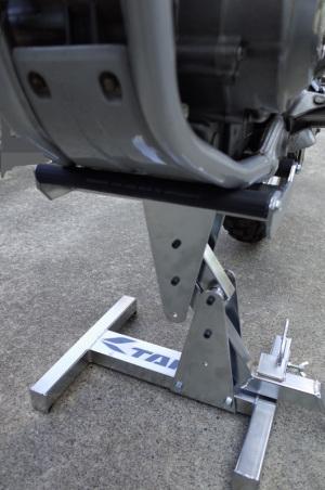 RSタイチRSP104クイックスタンド + Honda CRF250L(MD38)