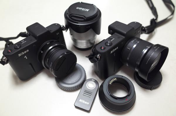 我が家のニコン「レンズ交換式アドバンストカメラ」Nikon 1シリーズ