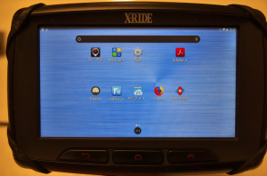 X-RIDE RX-XR550XL(android 4.4.2)でNova Launcherによるホーム画面