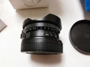 8 ミリメートル F3.8 + プレゼントのスーツマイクロフォーサーズマウントカメラ魚眼 C マウント広角魚眼レンズ焦点距離魚眼レンズ
