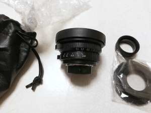 8mm F3.8 CCTV Wide Angle Fisheye Lens C-mount