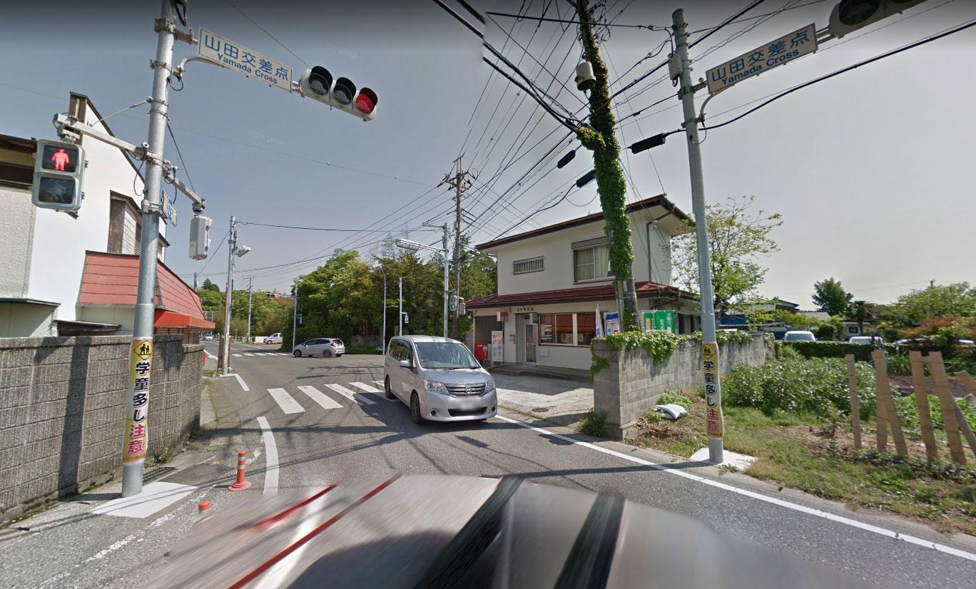 【画像3】千葉県道176号・国道465号山田交差点(Googleストリートビュー)