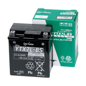 GS YUASA YTX7L-BSバッテリー