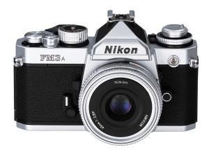 Nikon FM3A and Ai Nikkor 45mmF2.8P