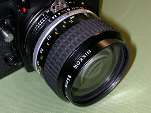 Ai Nikkor 35mm F2S