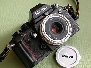 Ai nikkor 45mm F2.8P with Nikon F3