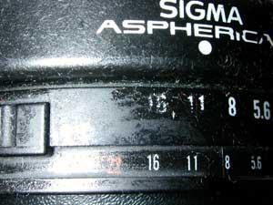 Sigma High-speed Wide 28mm F1.8 Aspherical (I)