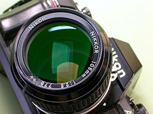 Ai Nikkor 105mm F2.5 and Nikon F-501