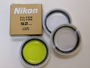 Nikon L37C filters and Y48 filter