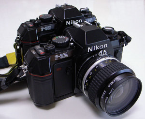 Nikon F-301 with Ai Nikkor 35mm F2S (L37C) and Nikon F-501