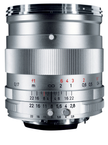 Carl Zeiss Industrial version of the Distagon T* 2.8/25 ZF-I (c)Carl Zeiss