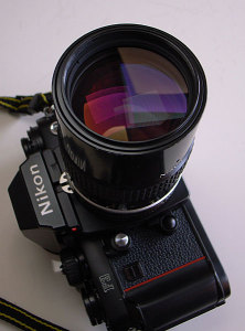 Ai Nikkor 135mm F2.8 + Nikon F3