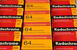 Kodachrome 64(KR),Kodachrome 64 Professional(PKR) and Kodachrome 200(KL)