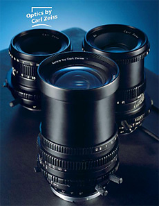 Hartblei Prototype 4/40 IF TS、 Prototype 2,8/80 TS、Prototype Macro 4/120 TS Optics by Carl Zeiss